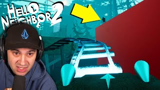 Riding The World's CREEPIEST Roller Coaster in Hello Neighbor 2!