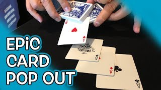 HOW TO Make Cards Appear from Deck!  **Card Trick Explained**
