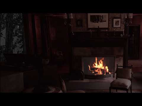 Thunderstorm, howling wind, and heavy Rain sounds - Manor house ambience [3 hours]
