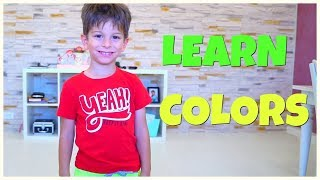 The Color Song for Kids - Learn Colors with Paint Finger Family Song