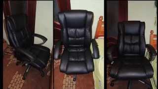 Кресло руководителя Обзор,распаковка,сборка(Смотрим, собираем кресло руководителя на примере модели H-9129L-1. Как мне кажется данное видео будет..., 2014-09-15T16:40:37.000Z)