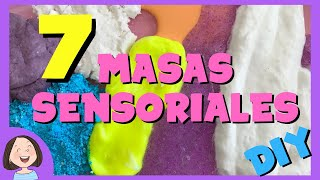 7 Masas Sensoriales para niños