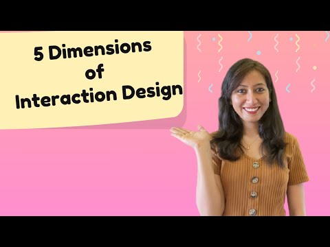 What is Interaction Design for Beginners ? Learn 5 Dimensions of Interaction Design