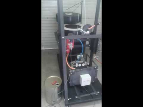 Oil burning DIY furnace