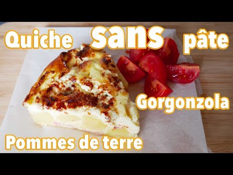 quiche-sans-pâte-gorgonzola-et-pommes-de-terre-facile-🍴