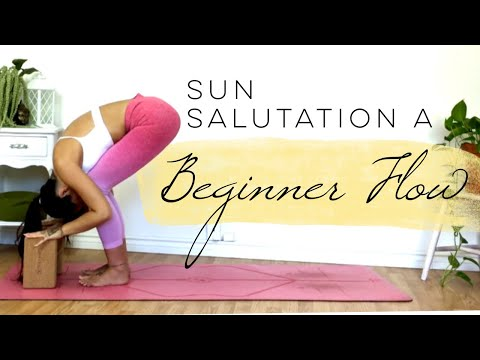 5 Minute Morning Yoga Flow For Beginners | Half Sun Salutation A
