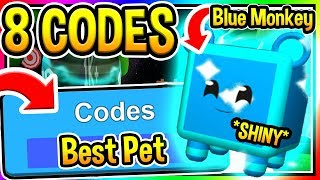 ALL 8 NEW BALLOON SIMULATOR CODES - Best Pet Shiny Blue Monkey - New Update 4/ Roblox Codes