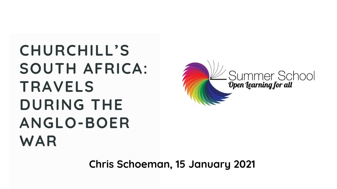 Churchill's SA by Chris Schoeman