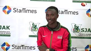 Paralympian Vincent Mutai named SJAK Sports Personality for April