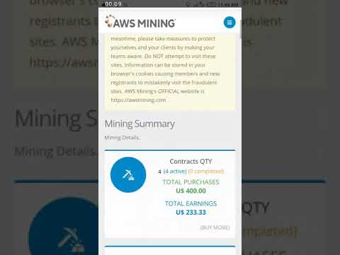 How To Get Your Referral Link In AWS Mining