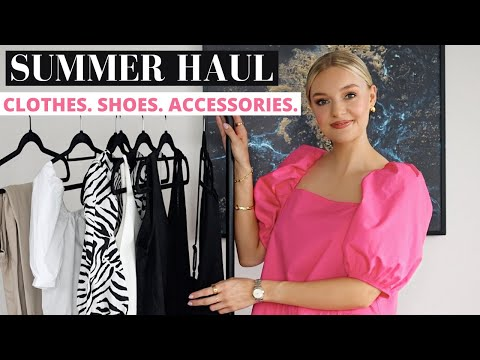 *NEW IN* SUMMER HAUL TRY-ON 2020 | H&M, MANGO, LOAVIES