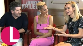 Simon Cowell, Alesha Dixon And Amanda Holden On New Series Of BGT  Lorraine