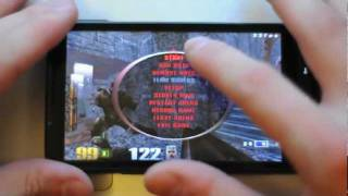 Quake 3 Arena on mobile phone: Android port