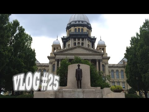 Our 1st Month & Downtown Springfield, Illinois! (Vlog #25)