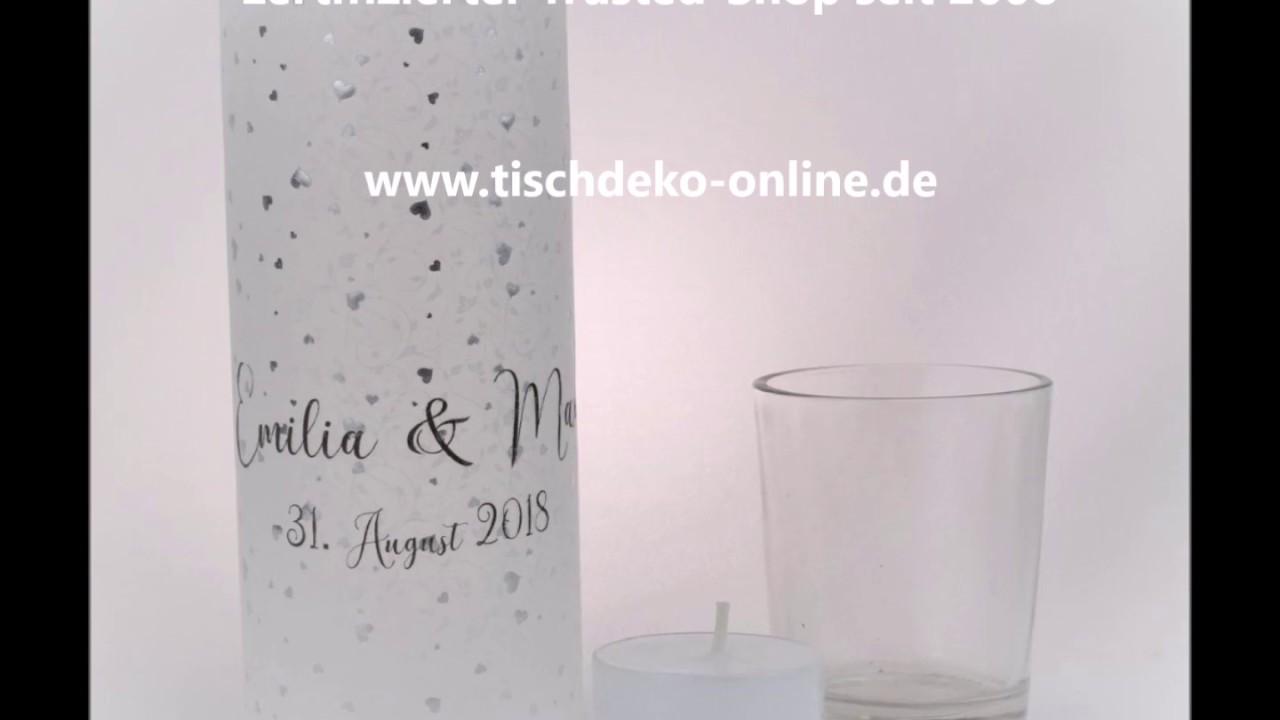 Windlichter Aus Pergament Und Edelstahl Von Tischdeko Online De