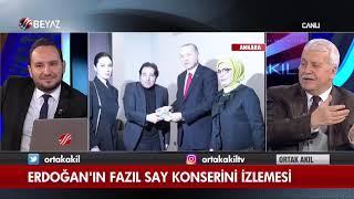Erdoğan'ın Fazıl Say konserini izlemesi Video