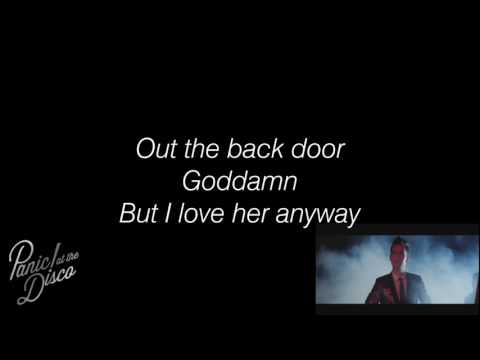 Panic! At The Disco - Miss Jackson Lyrics HD