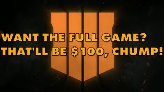 Call Of Duty: Black Ops 4 Season Pass Demands Ransom From Customers