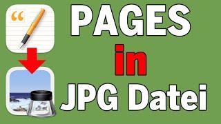 Aus PAGES-Seiten JPG-Dateien mit wenige Klicks erzeugen