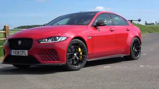 Jaguar XE Project 8 first drive and review. 600bhp and 200mph