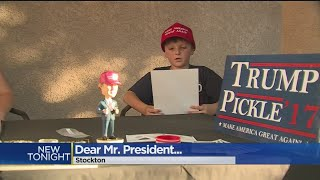 'Pickle' Behind Letter Sent To Trump Is Stockton Boy