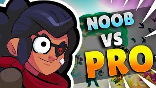 BRAWL STARS FUNNY MOMENTS NOOB VS PRO