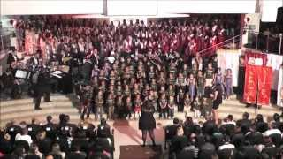 """Sing Out"" The Lord Be Magnified - Ron Kenoly - 40 Anos Grupo Harmonia com Grupo Grão de Areia"