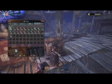 Hack Monster Hunter Word Ps4 Unlimited Object 999 all Object