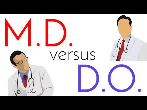 M.D. Vs. D.O. | Allopathic And Osteopathic Medical School Comparison