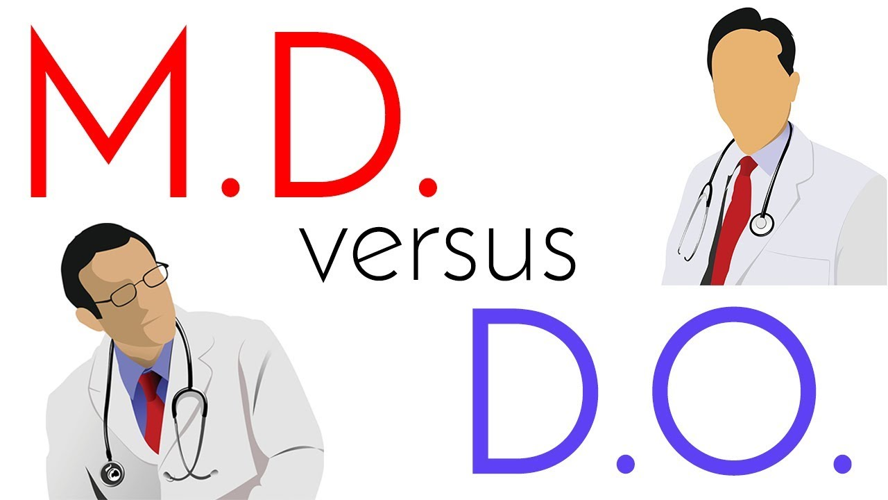 M D  vs  D O  | Allopathic and Osteopathic Medical School Comparison