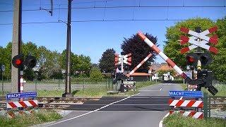Spoorwegovergang Hattemerbroek // Dutch railroad crossing