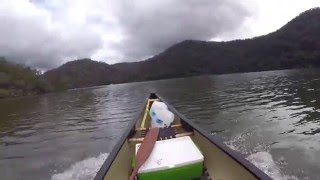TESTED - Power Canoe With 2hp Outboard Motor