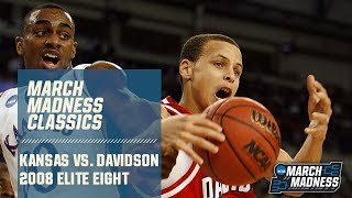 Kansas vs. Davidson: 2008 Elite Eight | FULL GAME