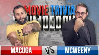 Josh Macuga VS Drew McWeeny - Movie Trivia Schmoedown