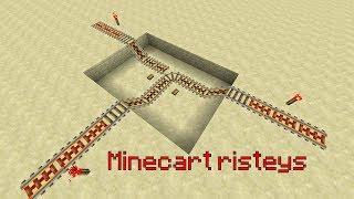 Minecraft Tutoriaali Minecart Risteys