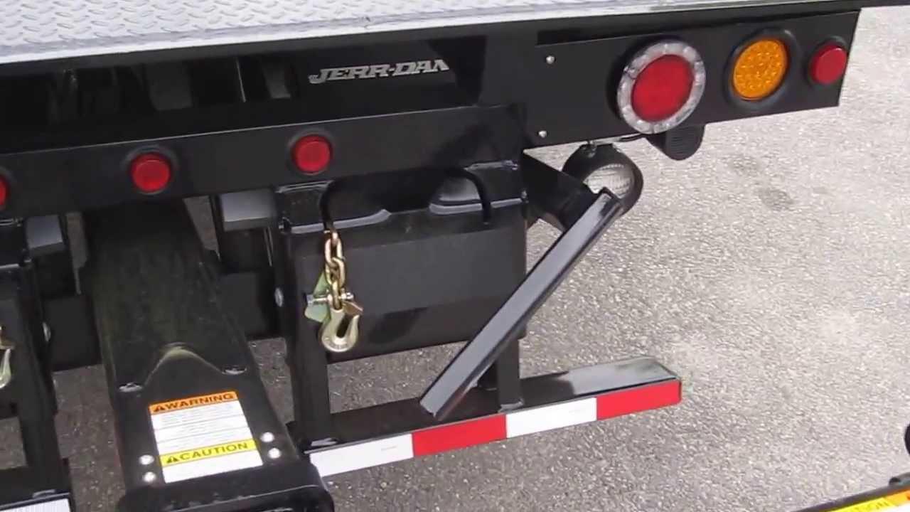 2013 ud2300lp jerrdan rollback tow truck 6 ton steel crawford truck sales youtube