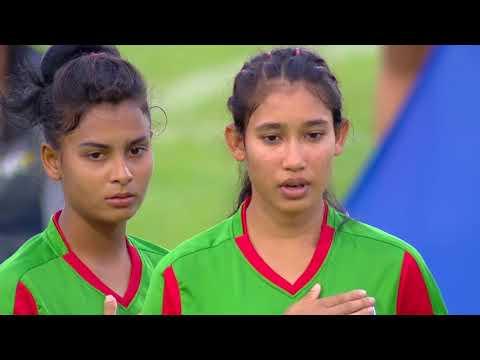 Australia U-16 Women's Vs. Bangladesh U-16 Women's National Football Team
