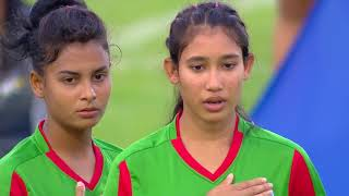 Australia U-16 Womens Vs Bangladesh U-16 Womens national Football Team