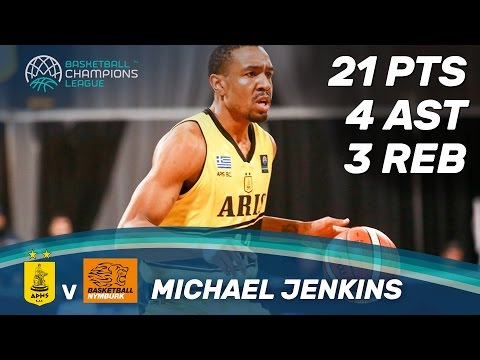 Michael Jenkins (21 Pts.) with an amazing performance against CEZ Nymburk