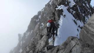 Dakota Jones on Mont Blanc