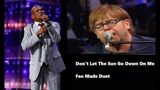Elton John & Archie Williams - Don't Let The Sun Go Down On Me (Fan Made)