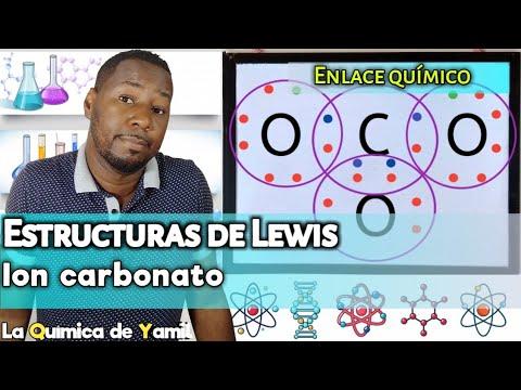 Estructuras de Lewis del Ion Carbonato (CO3)-2 | Enlaces ...