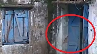 ghost girl enter in door scary videos ghost caught on tape scary videos
