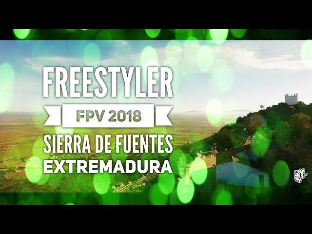 Freestyler FPV Sierra de Fuentes. El Risco freestyler