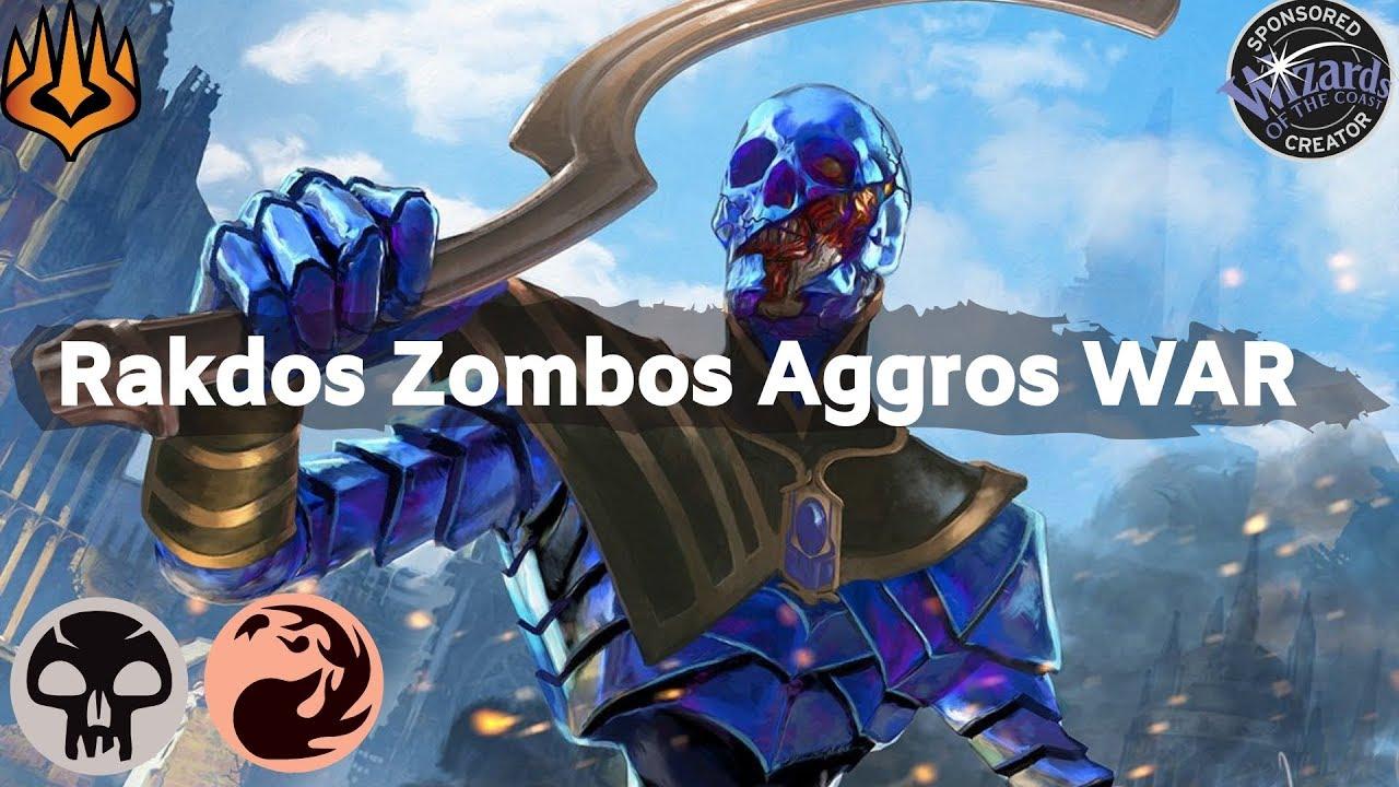Rakdos Zombos Aggro WAR   MtG Arena Deck Tech and Gameplay   Early Access  Event