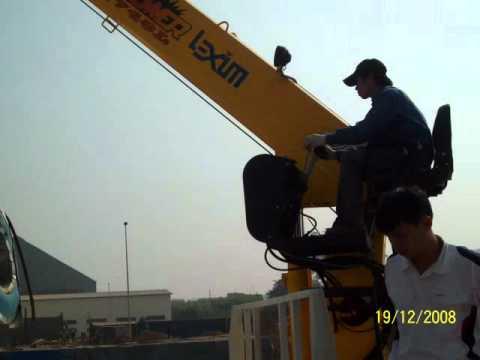 Xe tải Hino FL gắn cẩu Soosan 8 tấn- 0915844868