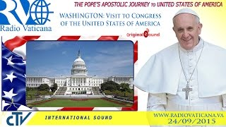 Pope Francis in the USA-Visit to Congress of the United States of America