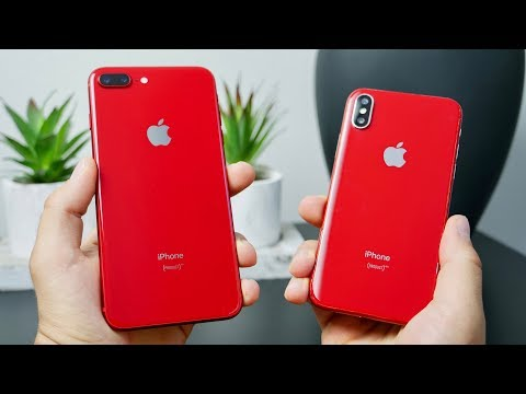 They Said It Didn't Exist.. First Product Red iPhone X!