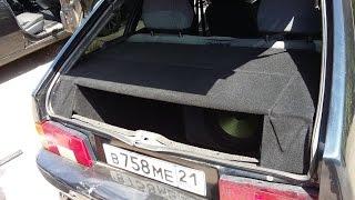 ВАЗ -2114 переделываем багажник!