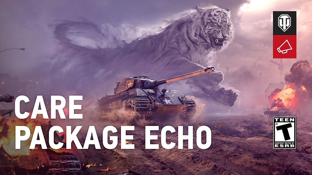 Claim Care Package Echo with Twitch Prime! | News | World of Tanks